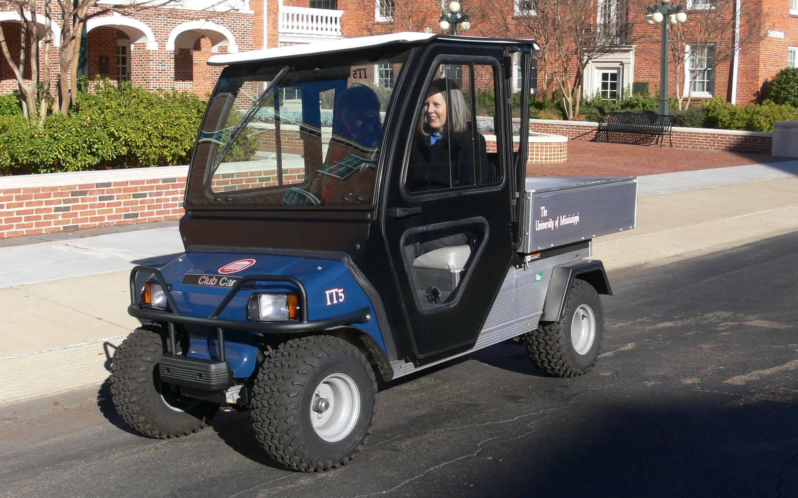 Using Electric Utility Carts For Transportation On The Um