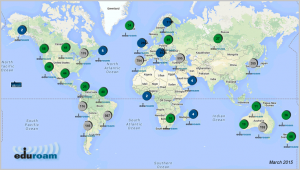 eduroam global map