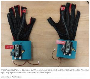 SignAloud Gloves