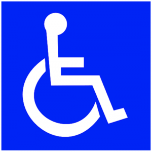 traditional ISA handicapped symbol