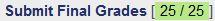 Final Grades Status : Green